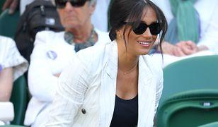 Meghan Markle na Wimbledonie