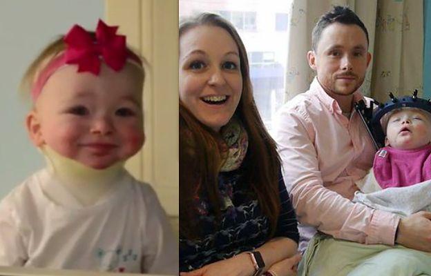 Ma 23 miesiące i walczy z nowotworem. Uśmiech nie schodzi z jej twarzy