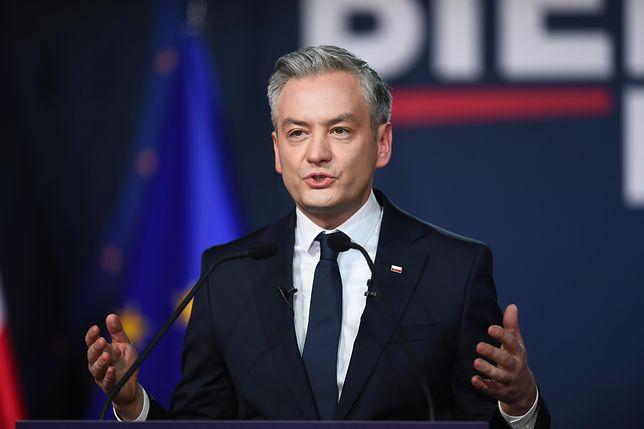 Rober Biedroń, kandydat Lewicy na prezydenta