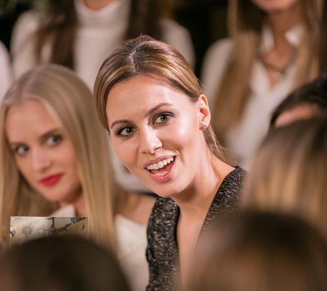 Agnieszka Hyży z wizytą u finalistek Miss Polski 2016