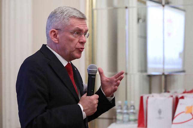Stanisław Karczewski chce, by strajk jak najszybciej się skończył