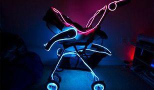 Neonowy wózek