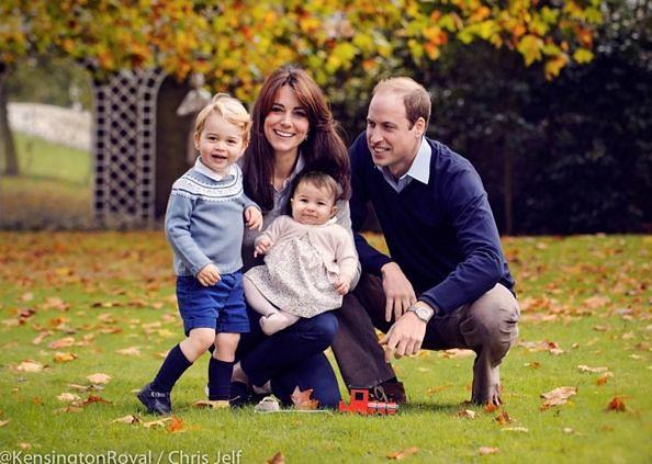 Księżna Kate, książę William, książę Jerzy, księżniczka Charlotte