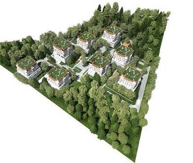"""Chorzów. Było zielono, będzie betonowo. Radni dali """"zielone światło"""" do budowy osiedla przy Parku Śląskim"""