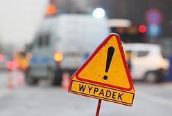 Warszawa. Zderzenie czterech aut natrasie S8