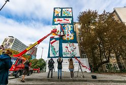 Warszawa. Powstały bliźniacze murale w stolicach Polski i Czech. Mówią o współpracy dwóch krajów