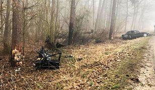 Wielkopolska. Tragedia pod Piłą. Nie żyje 38-latek