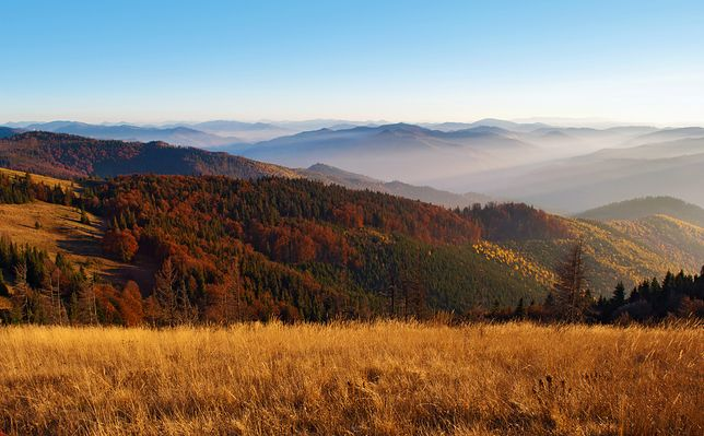 Prognoza pogody na dziś i jutro (26.09 – 27.09) – góry (Zakopane, Karpacz, Krynica-Zdrój, Ustroń, Solina, Żywiec)