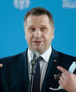 Przemysław Czarnek z ochroną SOP. Rzecznik rządu zaskoczony
