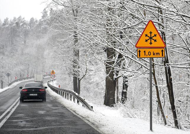 Pogoda. Intensywne opady śniegu na Dolnym Śląsku. Jest ostrzeżenie IMGW (zdjęcie ilustracyjne)