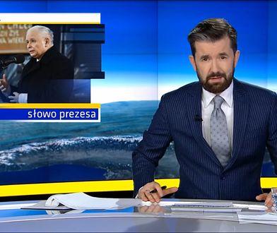TVN z dosadnym komentarzem o wystąpieniu prezesa PiS. Oberwało się TVP