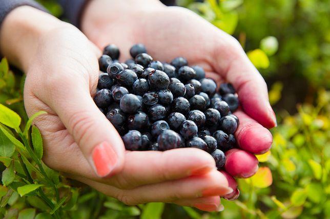 Zdrowe i pyszne owoce leśne