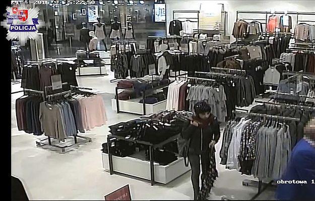 Młoda kobieta w Lublinie okradła klientkę w trakcie zakupów. Policja udostępnia jej wizerunek i prosi o pomoc