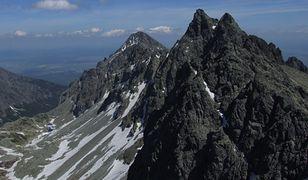 Polak źle się po czuł po tym, jak schodził ze Staroleśnego Szczytu w słowackich Tatrach Wysokich
