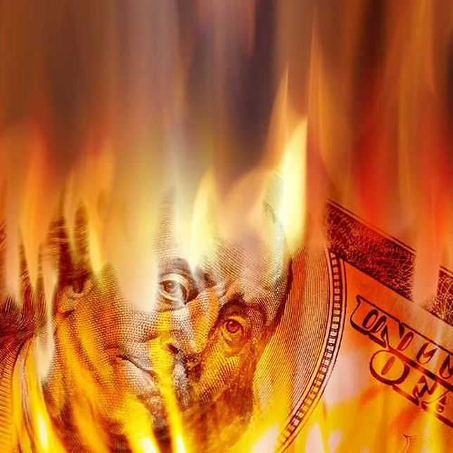 Dla amerykańskiej waluty nastał bardzo trudny czas.