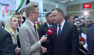 Prezydent Andrzej Duda dla WP: jeśli ktoś się czegoś boi, nie może być prezydentem