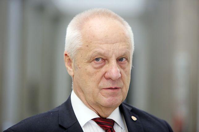 Stefan Niesiołowski, poseł i były działacz opozycji w czasach PRL