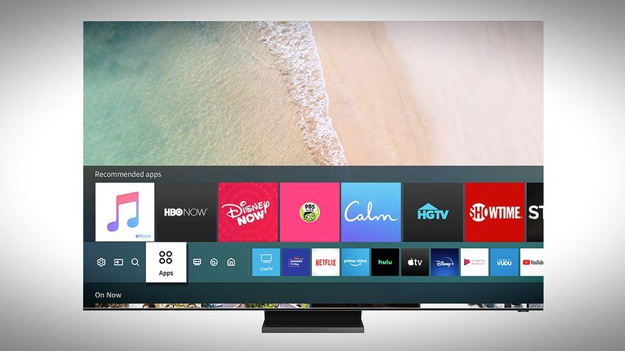 Apple Music jest już dostępny na telewizorach Samsung, fot. Samsung