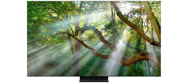 Samsung Q950T to telewizor 8K QLED z minimalnymi ramkami, fot. Samsung
