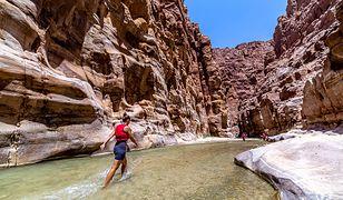 Jordania - kanioning w Wadi Mujib