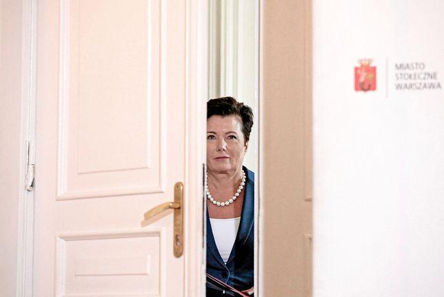 Prezydent Warszawy Hanna Gronkiewicz-Waltz straci 6 tys. zł miesięcznie