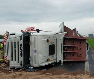 Mysłowice. Trudny dzień dla kierowców. Wypadki zakorkowały autostradę A4