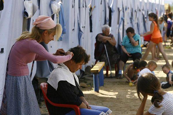 Już pół miliona uchodźców ukraińskich w granicach kraju i w Rosji - podaje UNHCR