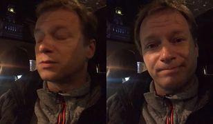 Maciej Stuhr nagrał filmik po 4 godz. stania w korku