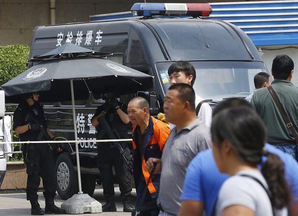 Zamach w Chinach. Nie żyje 15 osób