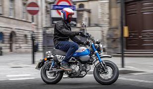 Nowa Honda Monkey z poprawionym silnikiem i piątym biegiem. Jest polska cena