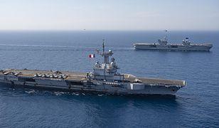 Lotniskowce HMS Queen Elizabeth i PA Charles De Gaulle