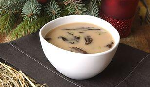 Wigilijna zupa grzybowa z suszonych grzybów