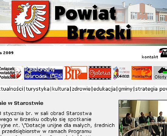 Admin:admin1 - hasło do strony powiatu brzeskiego