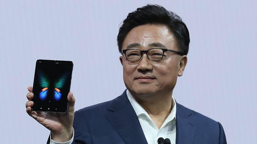Samsung bada problem psujących się ekranów Galaxy Fold (Getty Images)