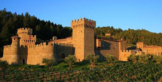Atrakcje USA - Castello di Amorosa