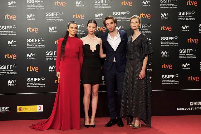 "Juliette Binoche, Mia Goth, Robert Pattinson i Agata Buzek na premierze ""High Life"""
