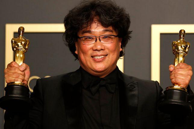 """Oscary 2020. Joon-ho Bong reżyser """"Parasite"""""""