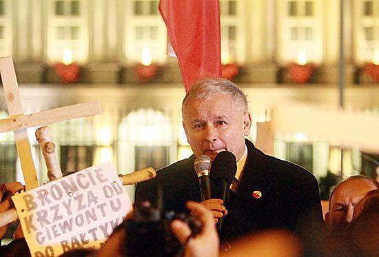 """PiS: Kaczyński nie mówił o """"prawdziwych Polakach"""""""