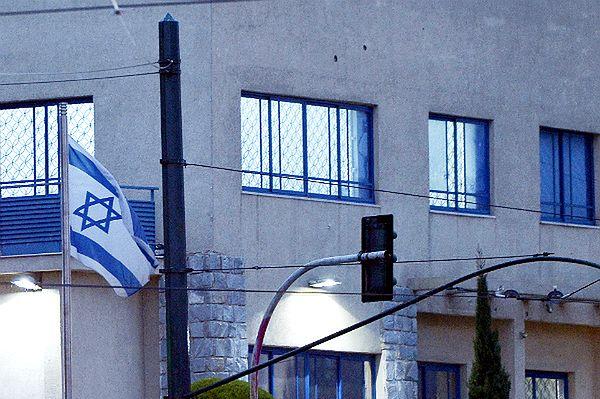 Ambasada Izraela w Atenach ostrzelana z broni maszynowej