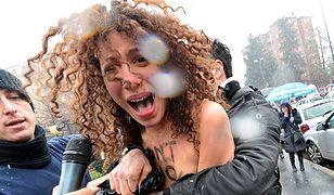 Aktywistki Femen protestowały przeciwko Berlusconiemu