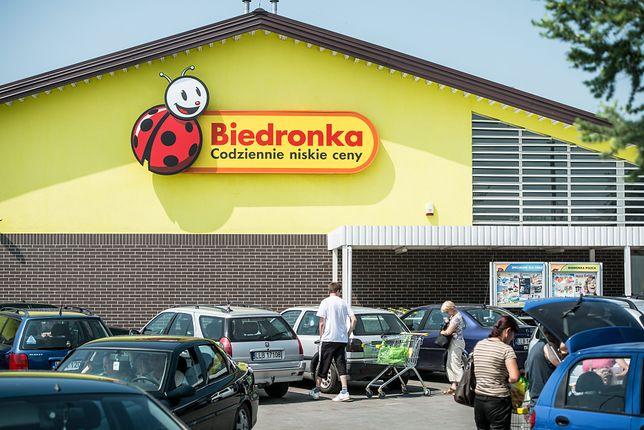 Oszuści stworzyli stronę internetową przypominającą witrynę Biedronki