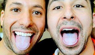 Szczoteczka na zęby nakładana na język