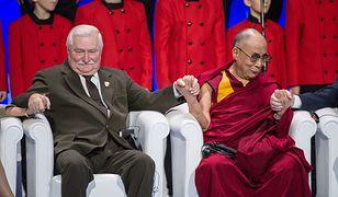 Lech Wałęsa i Dalajlama to laureaci Pokojowej Nagrody Nobla