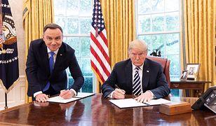 Po podpisaniu deklaracji prezydent USA Donald Trump opublikował zdjęcie, które wywołało zdziwienie