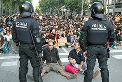 """""""Oburzeni"""" protestują w Barcelonie - 36 osób rannych"""