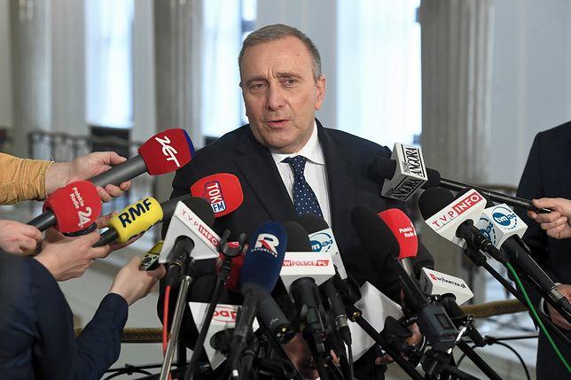 Grzegorz Schetyna przedstawia nazwiska na listach PO w wyborach do Parlamentu Europejskiego