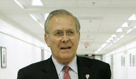 Rumsfeld z niespodziewaną wizytą do Iraku