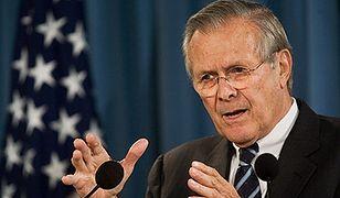 Rumsfeld przed rezygnacją proponował zmiany strategii w Iraku