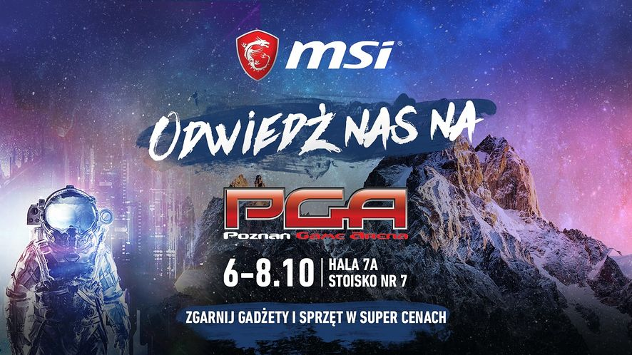 MSI podczas PGA 2017: nowości sprzętowe i projekt dla młodych e-sportowców