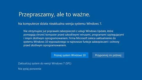 Ostatnie godziny na pozyskanie Windows 10. Za darmo tylko do soboty w południe